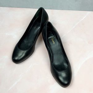 Cole Haan Black Leather Heels